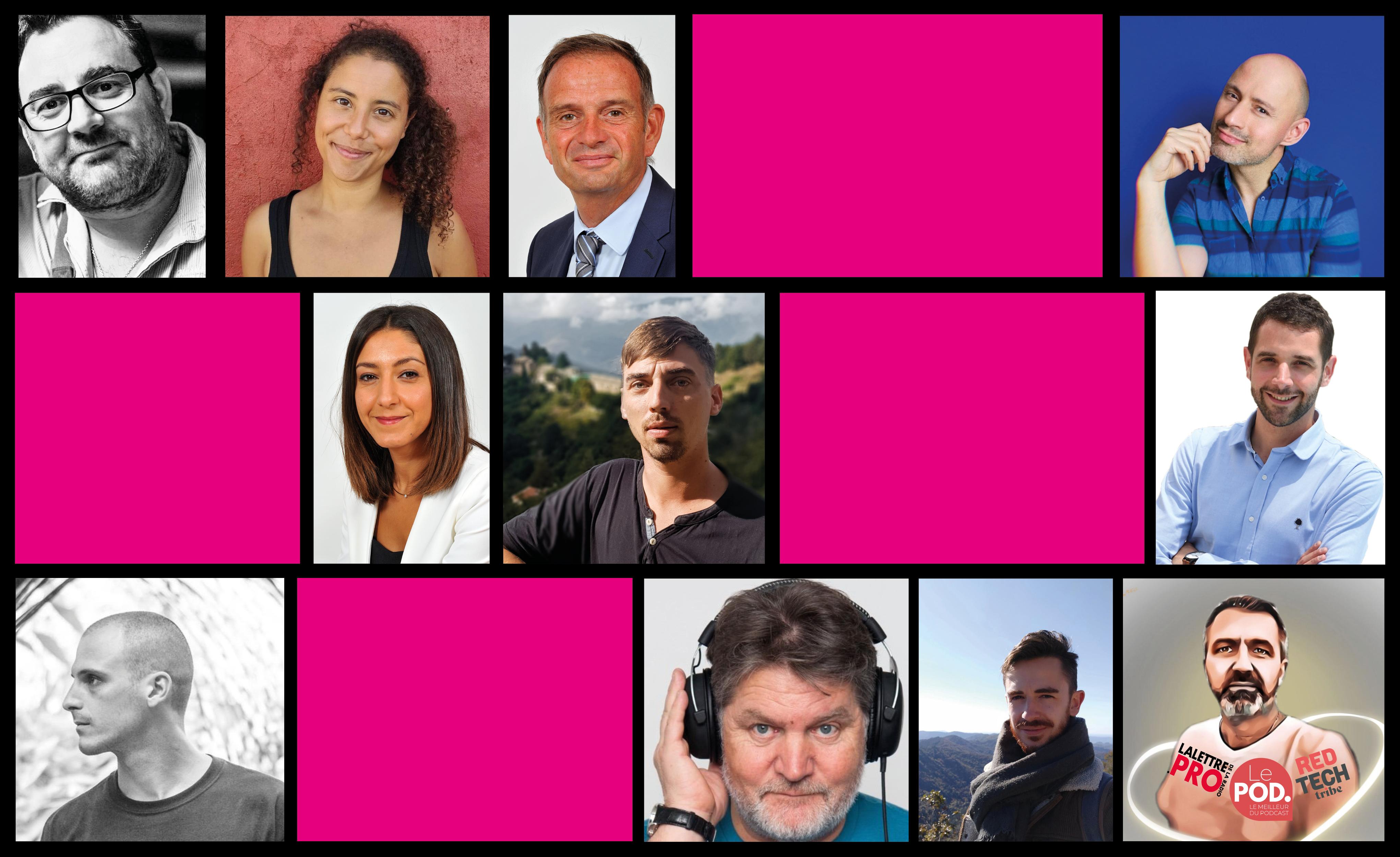 Concours de podcasts C dans le son : les membres du jury