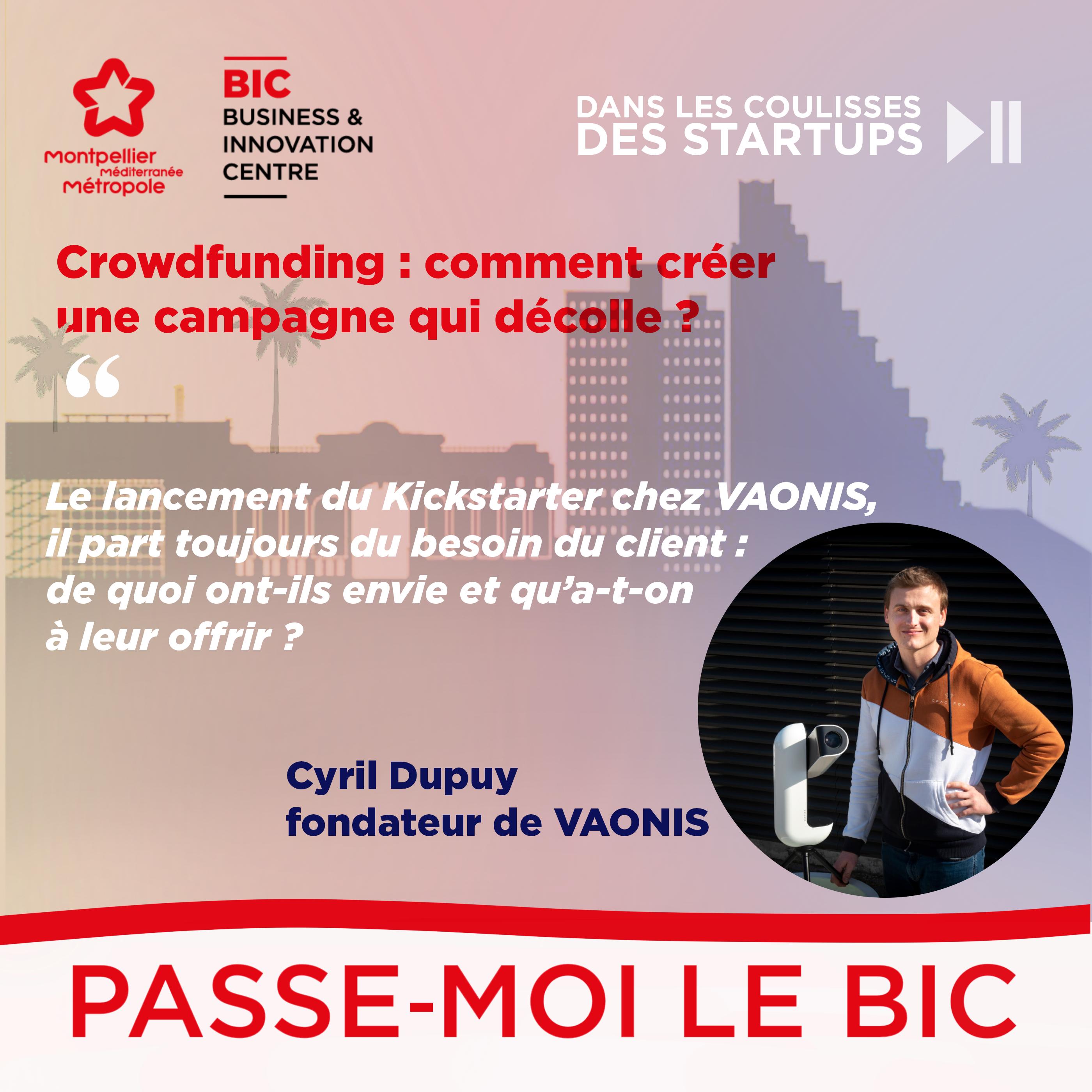 """""""Passe-moi le BIC : dans les coulisses des startups"""", épisode 2 !"""