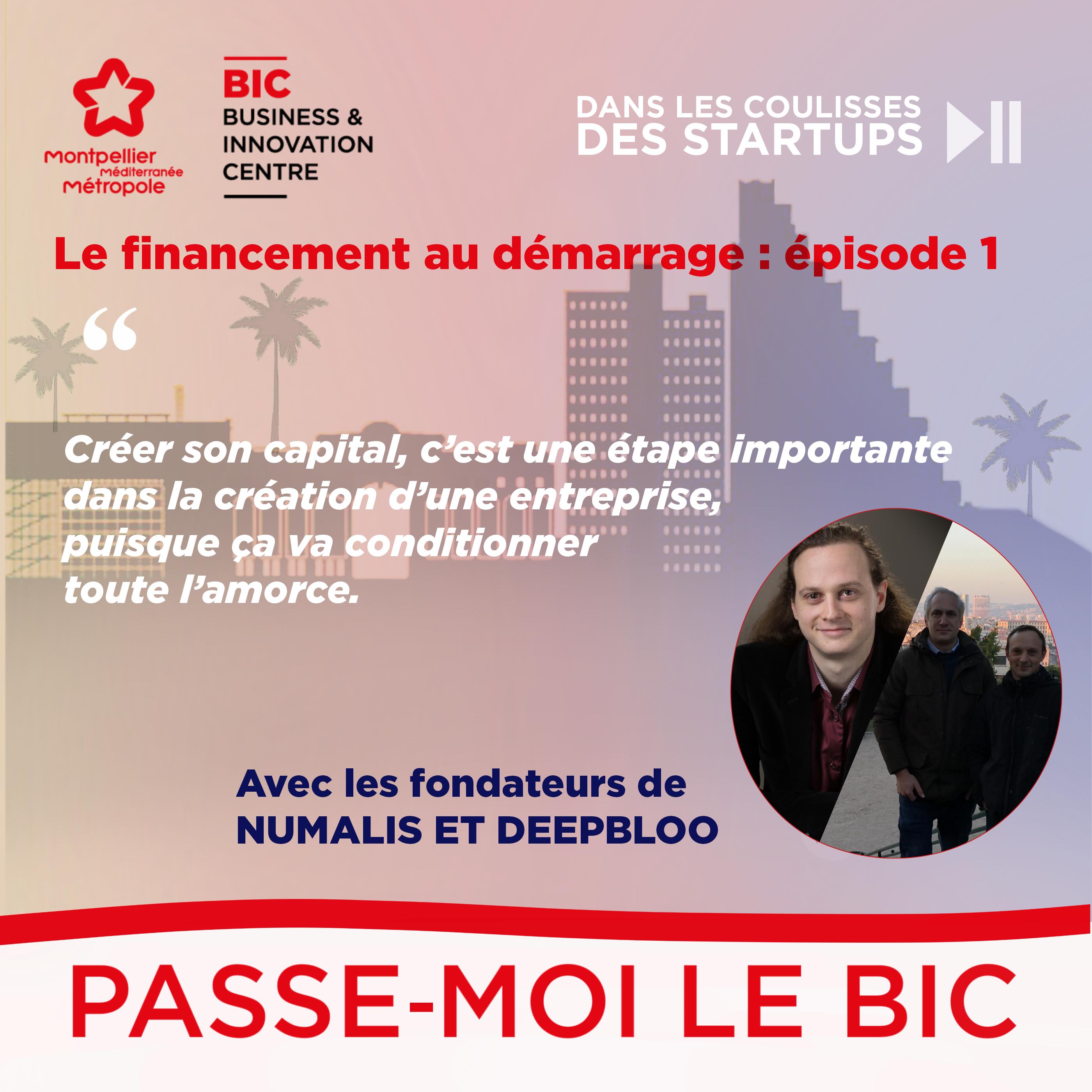 Le premier épisode de la chaîne de podcast du BIC de Montpellier