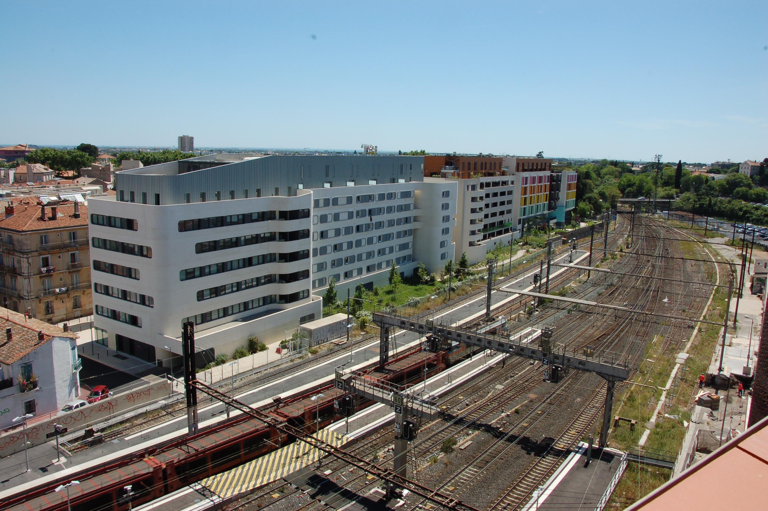 Le Nouveau Saint-Roch : un quartier d'affaires dans l'hyper centre.