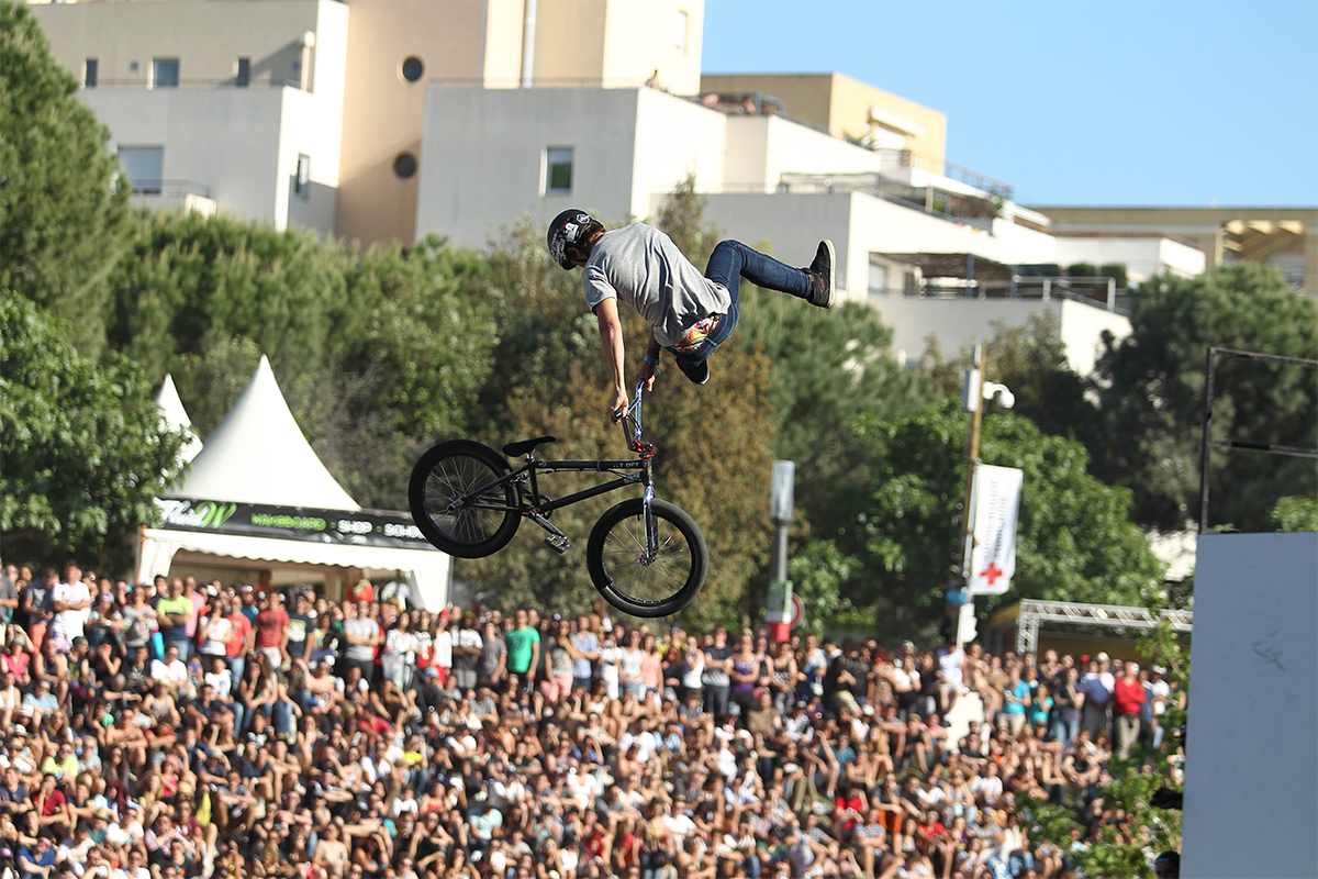Le FISE, Festival International des Sports Extrêmes.