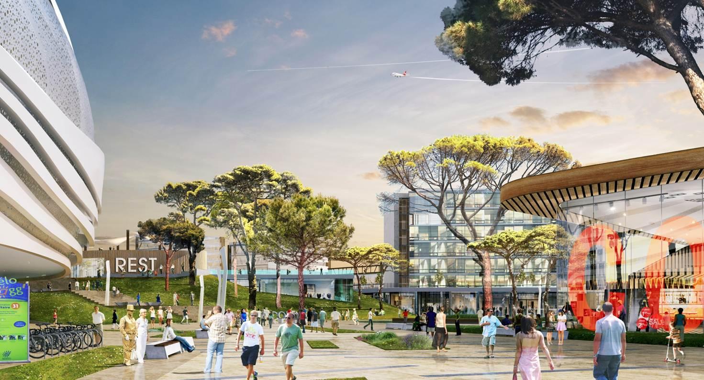 Le quartier Cambacérès a l'ambition de devenir le nouveau pôle d'affaires de Montpellier @XDGA