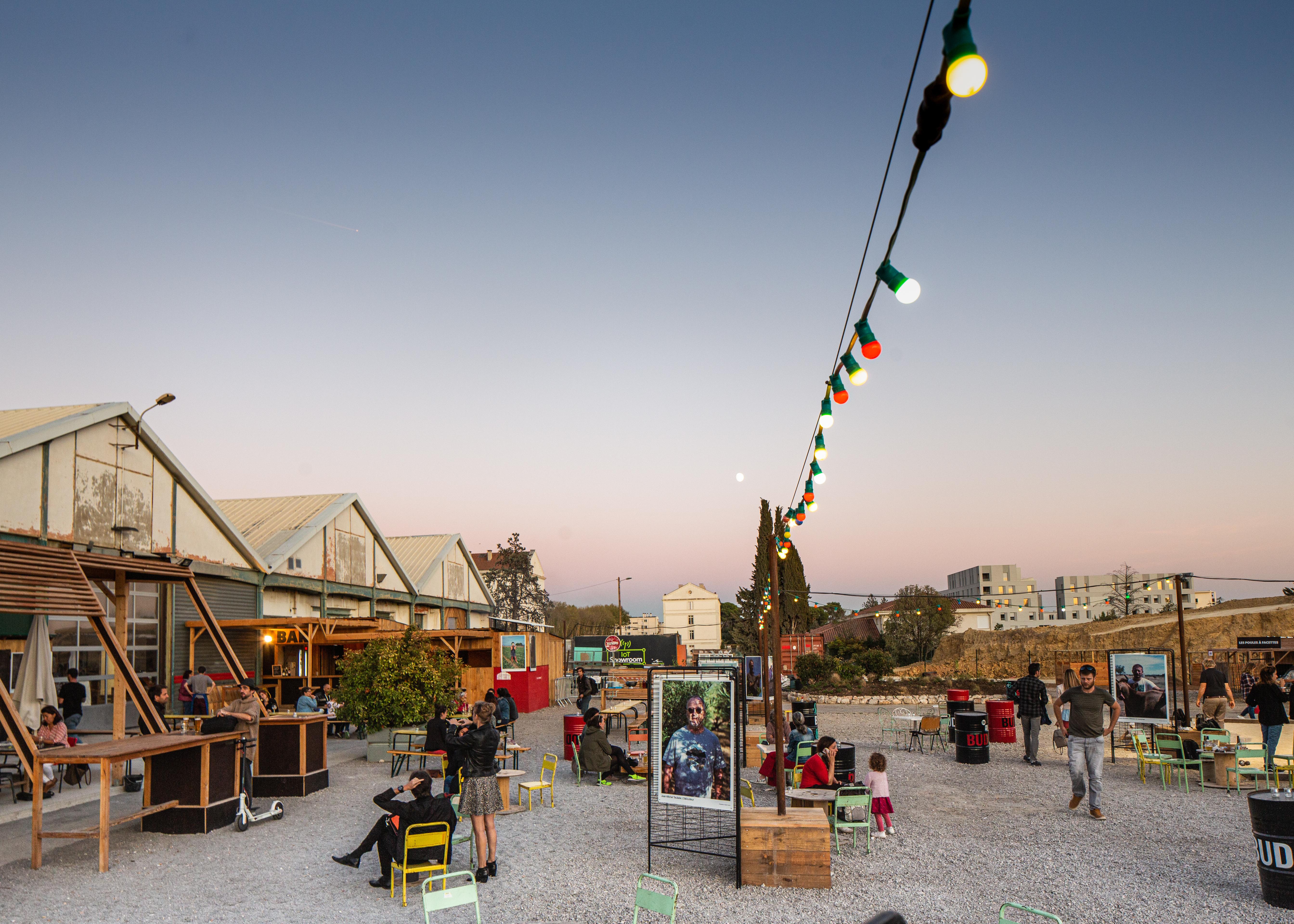 La Halle Tropisme au coeur de la Cité Créative @david richard