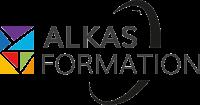 Logo - Alkas Formation - Organisme de formation web, commerce et gestion - Montpellier Millénaire