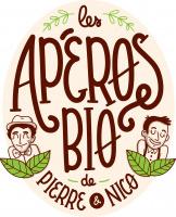Logo les Apéros Bio de Pierre et Nico