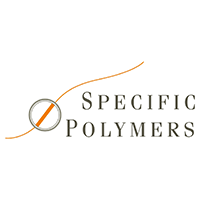 SPECIFIC POLYMERS Logo