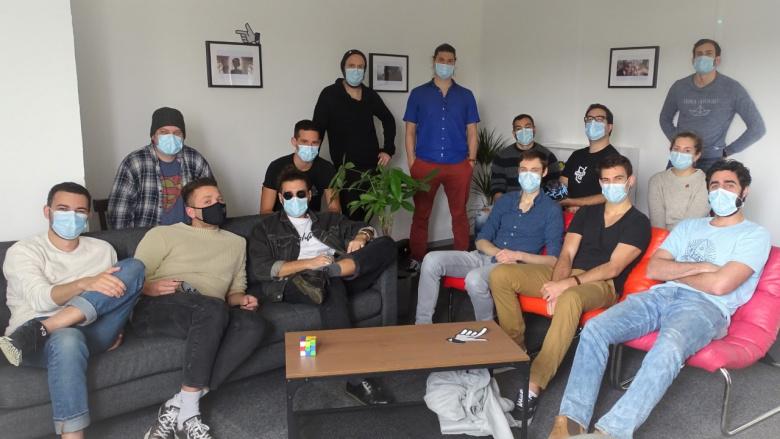 L'équipe du studio d'animation Fortiche Production @Fortiche production