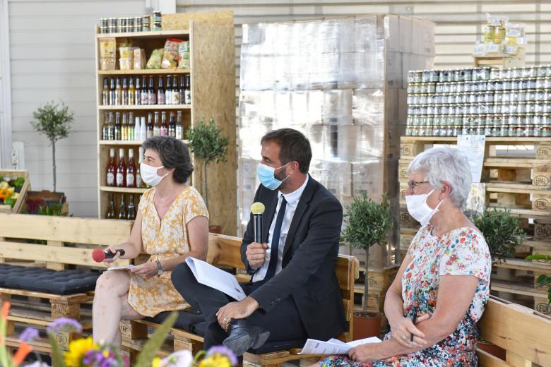 Conférence de presse 2021 sur le MIN de Montpellier