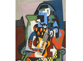 Tableau-Picasso-Arlequin Musicien 1924 ©Succession Picasso 2018
