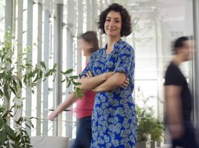 Raphaëlle Anginot, responsable de la Boutique des Sciences