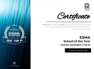 Éducation : l'ESMA classée 3e meilleure école d'animation au monde