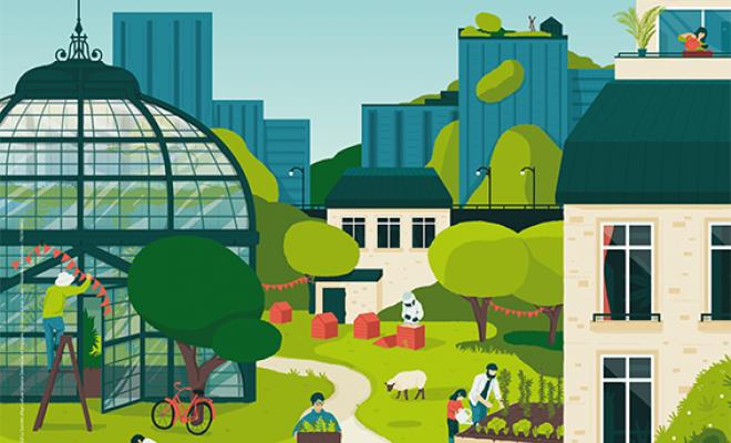 Affiche de l'événement : Les 48h de l'Agriculture Urbaine