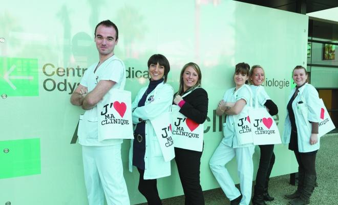 La Clinique du Millénaire et son équipe ©Claude-Paindaveine