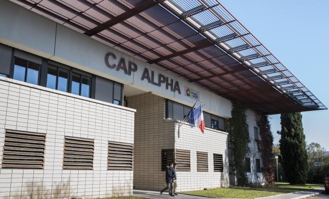 L'incubateur Cap Alpha est situé à Clapiers, au nord de Montpellier. ©David Crespin