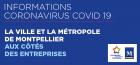 COVID19 - La Ville et la Métropole de Montpellier aux côtés des entreprises