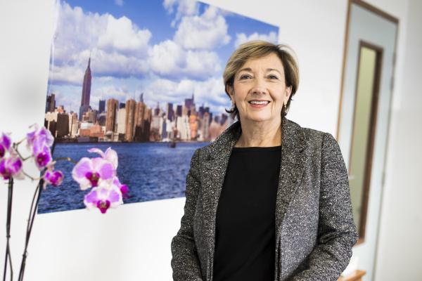 Dinah Weissmann, directrice adjointe de Sys2diag et directrice générale déléguée d'Alcediag