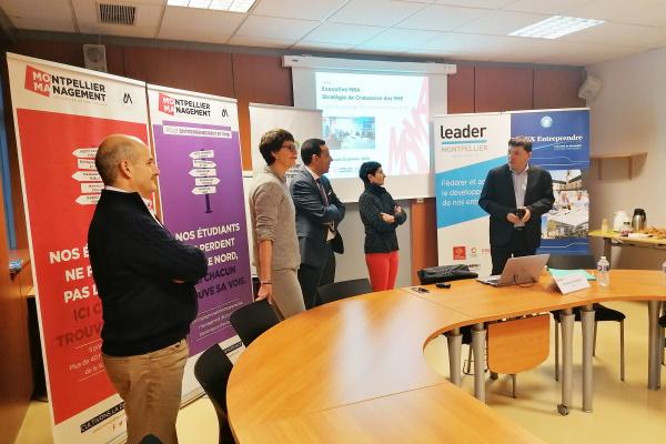 Lancement de la promotion EMBA