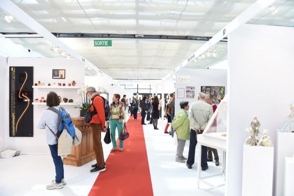 Edition 2018 du salon Ob'Art Montpellier (photo Aurélia Blanc, Ob'Art)