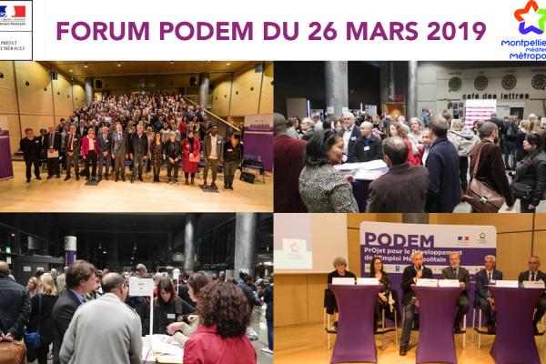 L'édition 2019 du PODEM a permis de présenter 24 actions sous forme originale de speed-labs