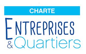 Logo Charte Entreprises et Quartiers