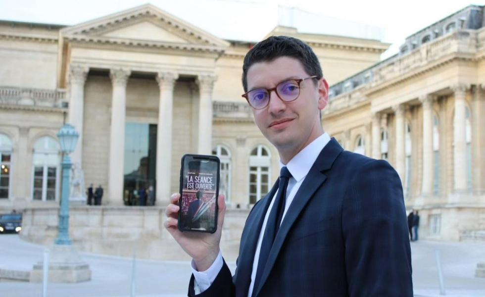 Rocambole publie une série préfacée par le Président de la République, Emmanuel Macron