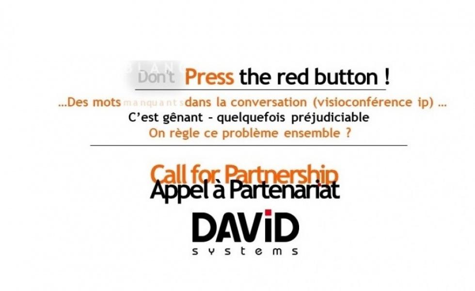 Appel à Partenariat Audio David Systems Coodio