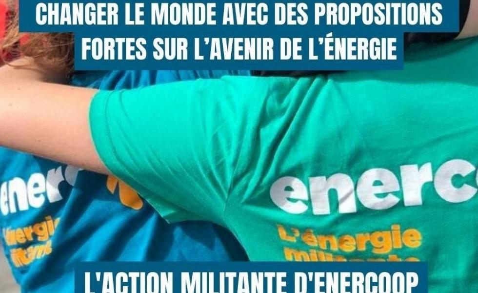 changer le monde avec des proposition fortes sur l'avenir de l'énergie