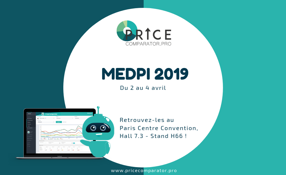 PriceComparator présent au salon MedPi 2019