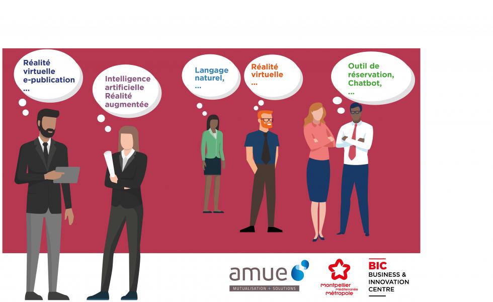 Rencontres Open innovation avec l'AMUE