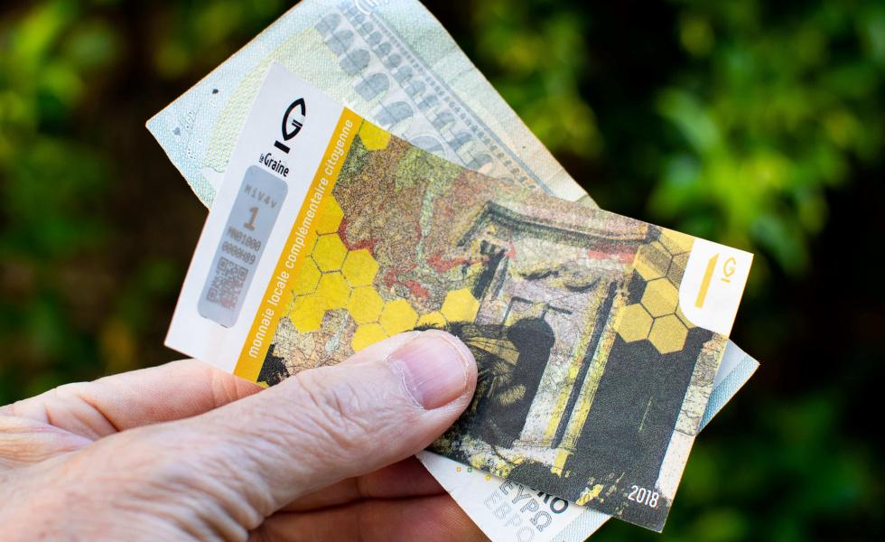 La Graine, monnaie locale de l'Hérault, fait son chemin dans la métropole