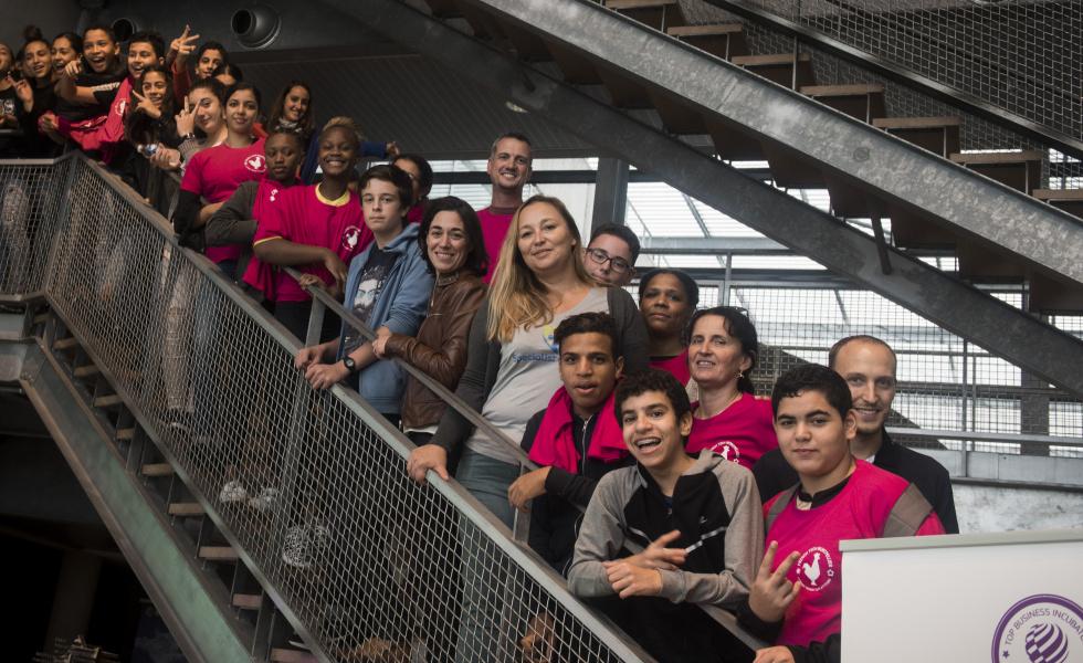 A Montpellier, Les startups à la portée des collégiens du réseau d'éducation prioritaire @david-crespin