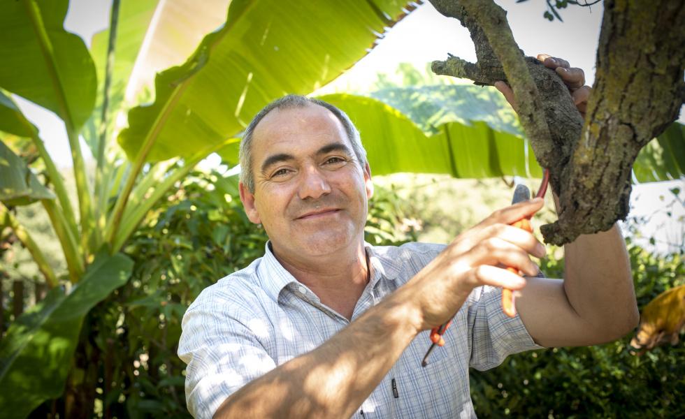 Julien Gayraud, dirigeant d'Angle Vert Services © Maugendre David