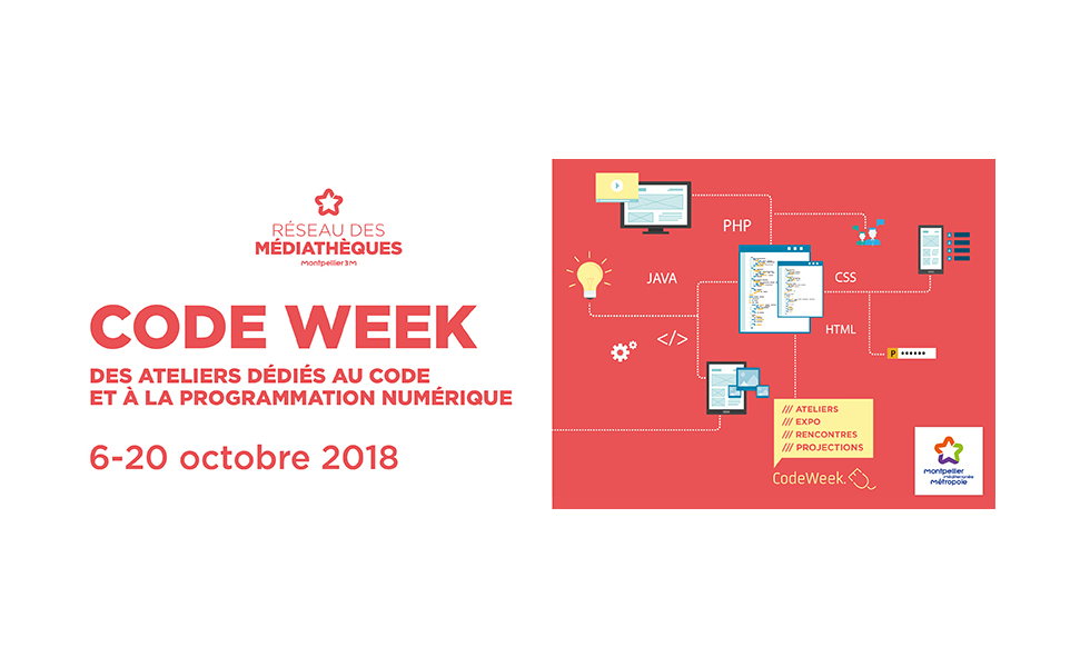 Code week du 6 au 20 octobre 2018, Montpellier