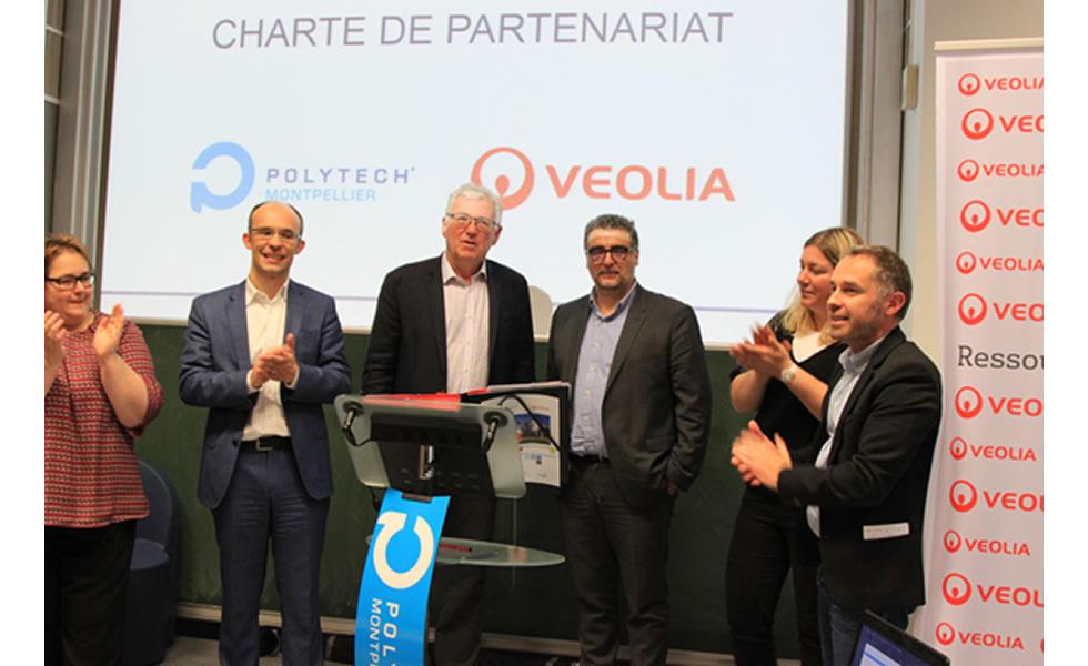 L'école Polytech Montpellier et Veolia s'engagent sur les formations d'ingénieur dans le domaine de l'eau