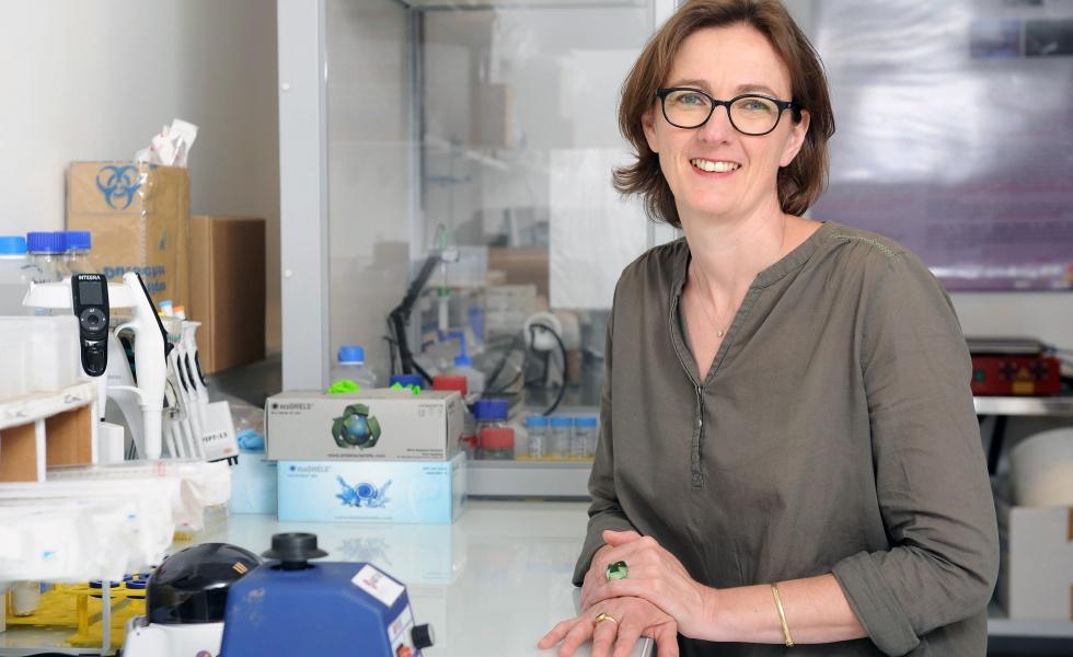 Françoise Cailler, PHD, présidente de SurgiMab ©Edouard Hannoteaux