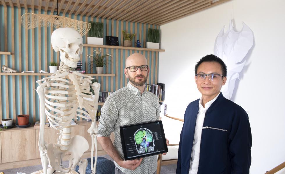 IMAIOS, l'inventeur de l'e-anatomy @david maugendre