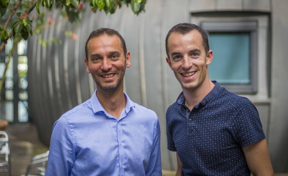 Patrick Chekib et Arnaud Laurent de We Sprint Montpellier (@We Sprint)