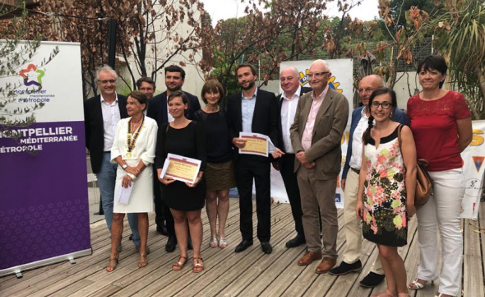 Le Rotary Club Montpellier Méditerranée a distingué trois créateurs d'entreprises innovantes montpelliéraines en 2019 @Rotary