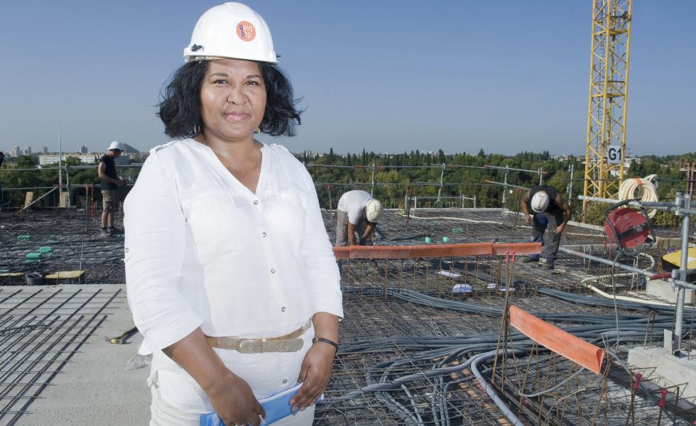 Sarah Sanchez, directrice du Geiq BTP Hérault. ©Edouard Hannoteaux