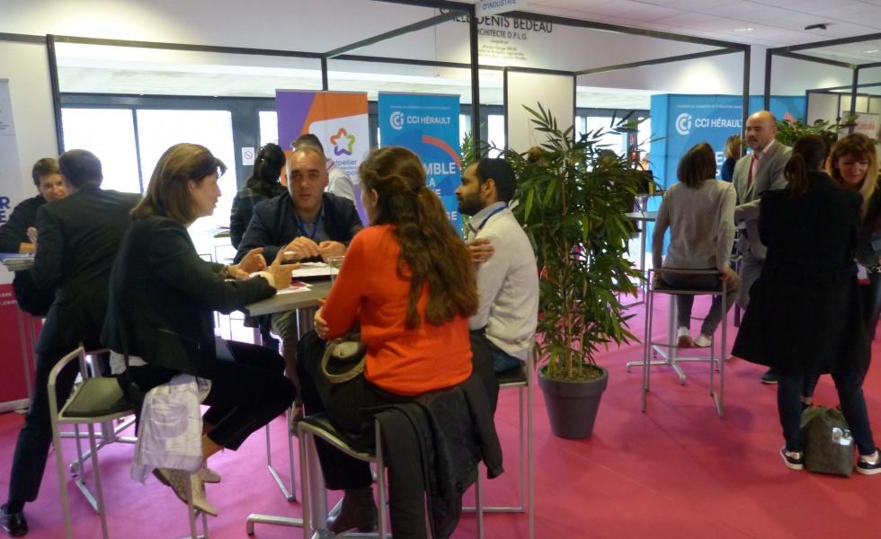 Le Forum du financement est notamment organisé par la CCI de l'Hérault. @CCI Hérault