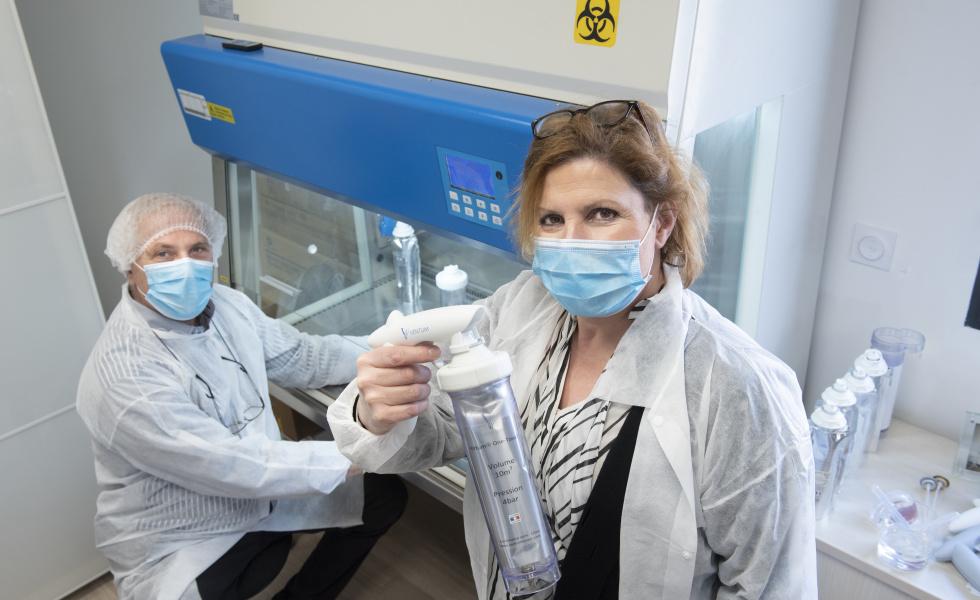 Ventum Biotech, la désinfection anti-Covid