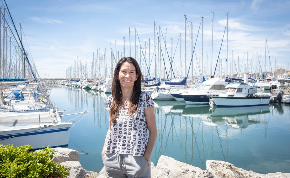 Genevieve MARAIS Genevieve Marais, présidente de la société Aquatech Innovation @David Maugendre