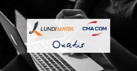 LUNDI MATIN s'allie à CMA CGM pour la reprise d'Oxatis