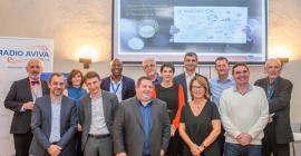 Les Lauréats de l'innovation 2018 et les partenaires de MELIES Business Angels • © MBA Julien Rouquette