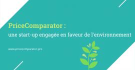 PriceComparator : une start-up engagée en faveur de l'environnement