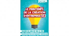 Le Printemps de la Création d'Entreprise 2019 : Forum révélateur de talents 2.0