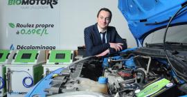 Alexis Landrieu, créateur de Biomotors @Edouard Hannoteaux