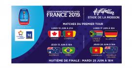 Coupe du monde féminine de la FIFA, France 2019