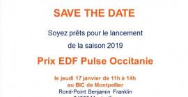 Lancement du concours EDF Pulse 2019 le 17 janvier à 11h, à Cap Omega