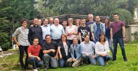 Fabrice Greenbaum et l'équipe de Weda©Weda SAS